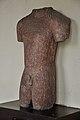 1st Jaina Tirthankara Rishabhanatha Torso - Circa 1st Century CE - ACCN 00-B-36 - Government Museum - Mathura 2013-02-23 4959.JPG