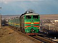 2ТЭ10М-2942, Молдова, перегон Бэлць-Слобозия - Бэлць-Ораш (Trainpix 56987).jpg