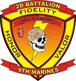 2nd Battalion, 9th Marines - 2nd Battalion, 9th Marine Regiment insignia