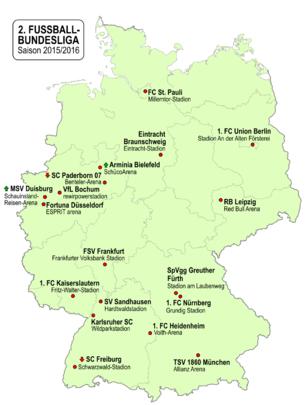 2 Fußball Bundesliga 201516 Wikipedia
