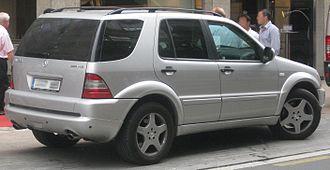 Mercedes-Benz M-Class - Mercedes-Benz ML 55 AMG