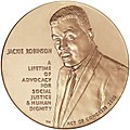 2003 Jackie Robinson Congressional Gold Medal front.jpg