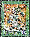 20041204 15sant Latvia Postage Stamp B.jpg