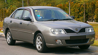 PROTON Holdings - The Proton Waja, the first indigenously designed Proton car.