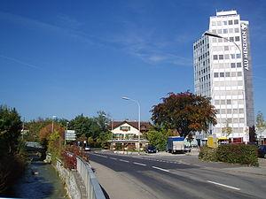 Menziken - Image: 2005 menziken alu hochhaus