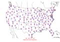 2006-05-04 Max-min Temperature Map NOAA.png