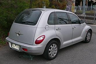 Chrysler PT Cruiser - Chrysler PT Cruiser Classic hatchback (Australia)