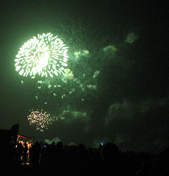 Barium - Green barium fireworks