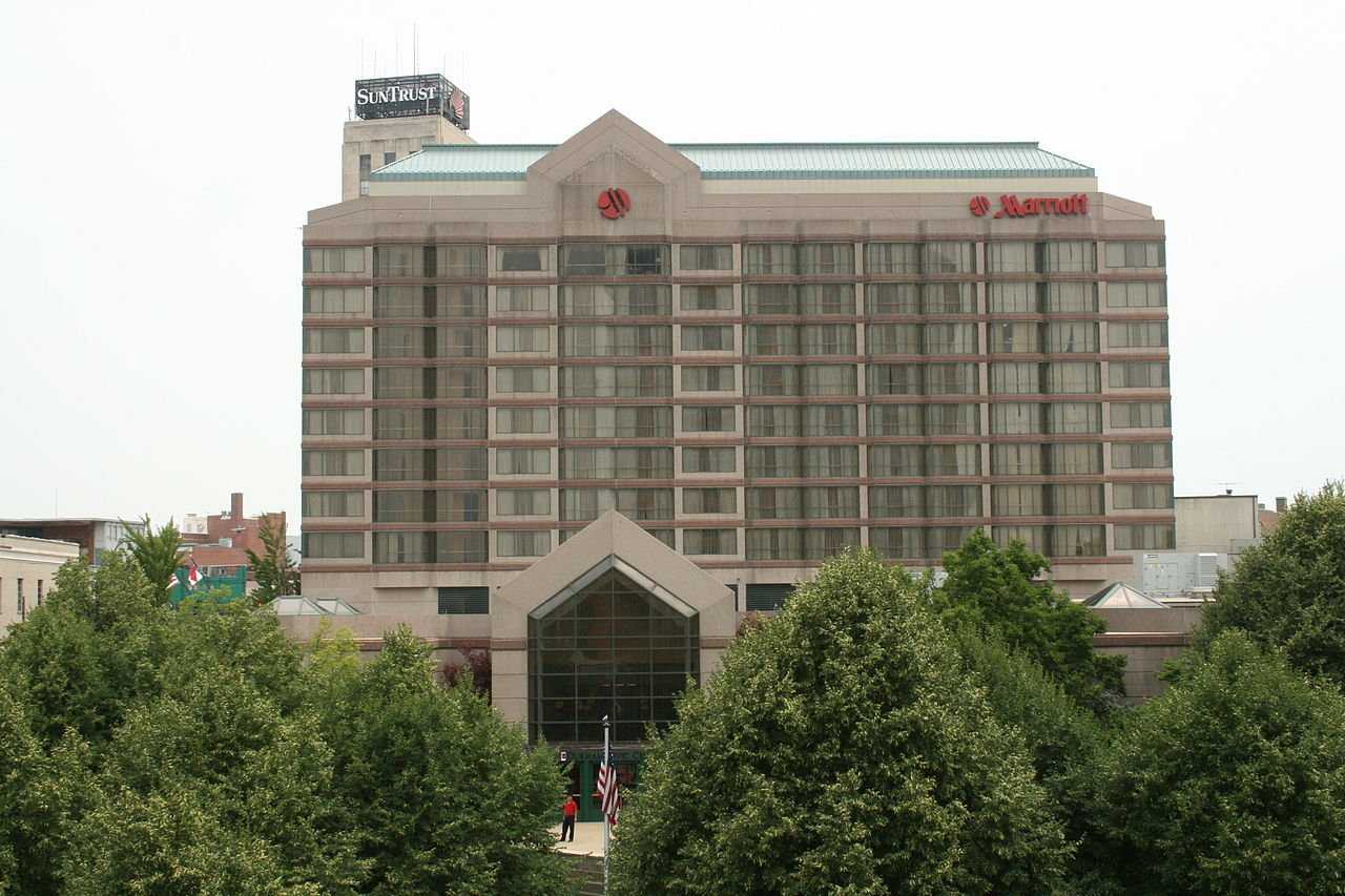 File 2008 07 05 Marriott Hotel In Downtown Durham Jpg