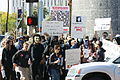 2008 02 Anonymous at Scientology in Los Angeles Lisa McPherson sign 01.jpg