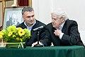 2009 Likhachev Foundation Prize ceremony - Anton Gubankov and Daniil Granin (2).jpg