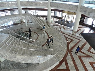 200 Liberty Street - Lobby stair
