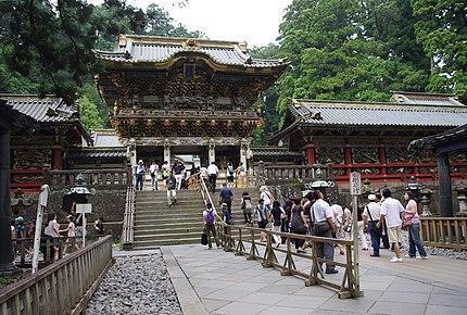 Yōmeimon Gate at Tōshō-gū Shrine in Nikko