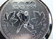 Royal Canadian Mint Olympic coins - Wikipedia