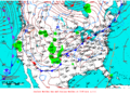 2012-02-07 Surface Weather Map NOAA.png