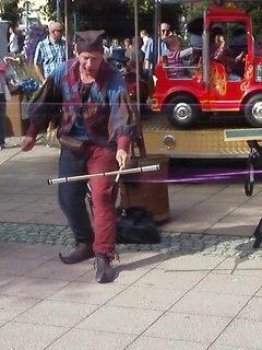 Juggling circus skill