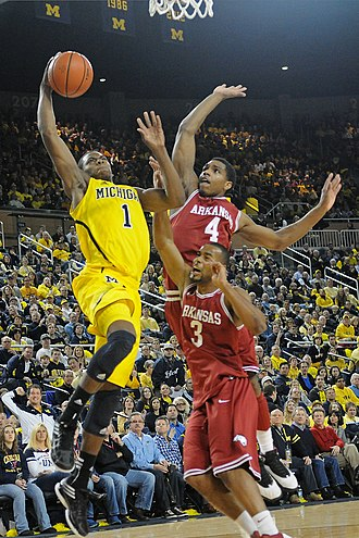 Glenn Robinson III - Robinson attacking the rim (2012-12-08)