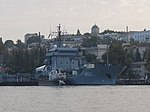 2013-08-29 Севастополь. Вспомогательное судно A512 Mosel ВМС Германии (2).JPG