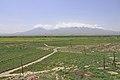 2014 Prowincja Ararat, Krajobraz widziany z klasztoru Chor Wirap (05).jpg