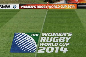 2014 Women's Rugby World Cup - Image: 2014 Women's Rugby World Cup 09