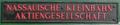 20150222 Tuluqaruk Schriftzug Nassauische Kleinbahn Aktiengesellschaft.png
