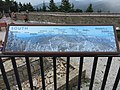 2016-07-25 13 37 27 Graphic description of the view southward on the observation platform on the summit of Mount Mitchell in Mount Mitchell State Park, North Carolina.jpg