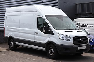 Ford Transit Range of light commercial vehicles produced by Ford