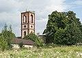 2016 Wieża kościoła ewangelickiego w Karpnikach 1.jpg