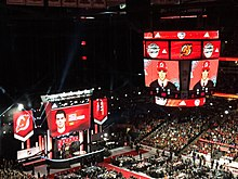 a51117f6f69 The 2017 NHL Entry Draft, immediately after Hischier was selected by the  New Jersey Devils