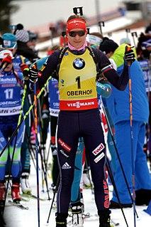 Anastasiya Kuzmina Slovak biathlete