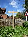 2018-05-01 Waymarker sign, Circular Walk, Overstrand.JPG