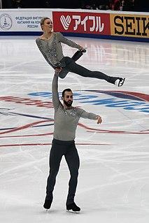 Ashley Cain-Gribble American figure skater