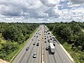 2019-07-18 14 50 42 View south along Interstate 695 (Baltimore Beltway) from the overpass for Interstate 70 in Woodlawn, Baltimore County, Maryland.jpg