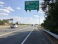 2019-10-02 15 46 59 View south along Maryland State Route 5 (Branch Avenue) at the exit for Maryland State Route 223-Woodyard Road (Clinton, Melwood) in Clinton, Prince George's County, Maryland.jpg