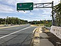 2019-10-07 15 43 42 View south along Virginia State Route 243 (Nutley Street) at the exit for Interstate 66 EAST (Washington) on the edge of Oakton and Merrifield in Fairfax County, Virginia.jpg