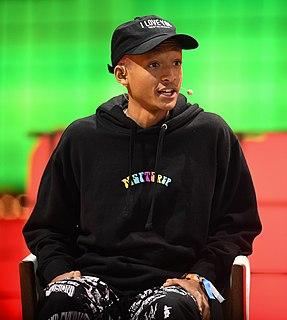 Jaden Smith American actor, rapper, singer and songwriter