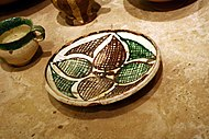 2141 - Byzantine Museum, Athens - Byzantine ceramic ware - Photo by Giovanni Dall'Orto, Nov 12 2009.jpg