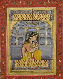 22Princess Padmavati ca. 1765 Bibliothèque nationale de France, Paris.jpg