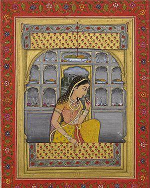 Rani Padmini - An 18th-century painting of Padmini.