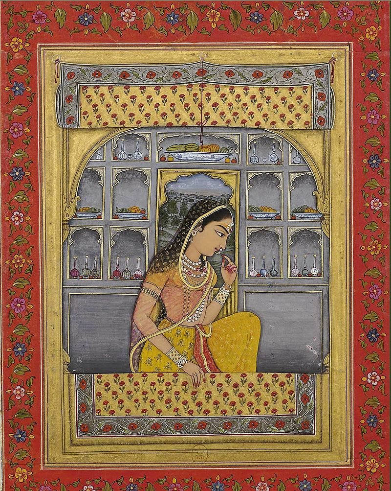 22Princess Padmavati ca. 1765 Biblioth%C3%A8que nationale de France, Paris.jpg