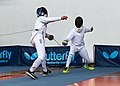 2nd Leonidas Pirgos Fencing Tournament. 8th parry by the fencer Nikolaos Delis.jpg