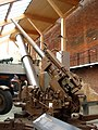 3.7 inch AA gun and Project Babylon at Fort Nelson Flickr 8616022863.jpg