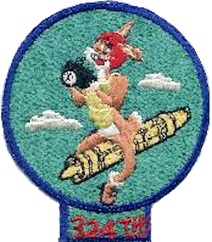 324th Expeditionary Reconnaissance Squadron - Image: 324th Strategic Reconnaissance Squadron SAC Emblem