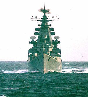 38 Kresta class destroyer nr Murmansk March1970.jpg
