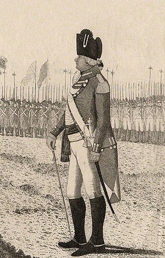 James Hope-Johnstone, 3rd Earl of Hopetoun - The Earl of Hopetoun in military outfit.