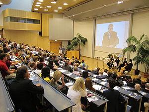 Alpen-Adria-Universität Klagenfurt - 40th anniversary celebrations, 2010, auditorium maximum
