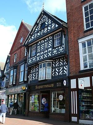 Queen's Aid House - Queen's Aid House, 41 High Street, Nantwich