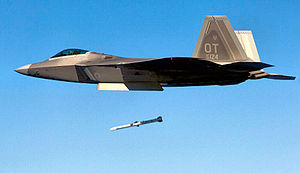422d Test and Evaluation Squadron Lockheed Martin F-22A Block 30 Raptor 06-4124.jpg