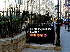 42nd Street – Bryant Park / Fifth Avenue (New York City Subway)