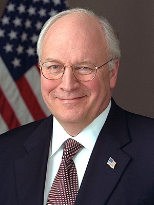 Dick Cheney, Vice President of the United States.